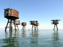 Maunsell Army Fort 2006 (C)Hywel Williams